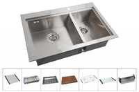 Мойка для кухни Zorg ARTE ZM X-5278-L
