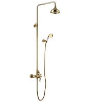 Душевая система Lemark Brava LM4760G золото