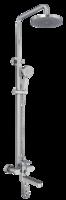 Душевая система для душа Bennberg однорычажная 160212-02 Хром