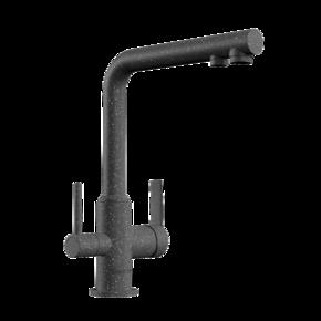 Смеситель для кухни Bennberg однорычажный 20F5051 Черный металлик