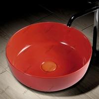 Керамическая раковина Melanа MLN-T4003-B3, красная