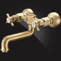 Смеситель Elghansa PRAKTIC BRONZE 3522660-Bronze для кухни двухвентильный, бронза