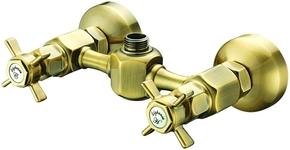 Смеситель Elghansa PRAKTIC BRONZE 3722660-Bronze для душа двухвентильный, бронза