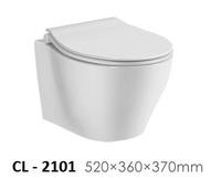 Керамический унитаз подвесной Ceramalux CL-2101