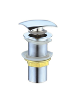 Донный клапан Ceramalux RD006 хром без перелива