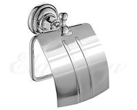 Держатель туалетной бумаги с крышкой Elghansa PRAKTIC PRK-300, хром