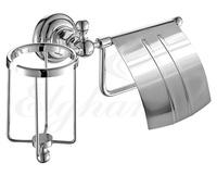 Держатель туалетной бумаги и освежителя Elghansa PRAKTIC PRK-360, хром