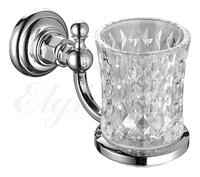 Держатель стакана, стекло Elghansa PRAKTIC PRK-412, хром