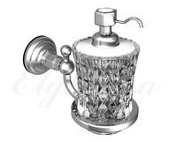 Дозатор для жидкого мыла, стекло Elghansa PRAKTIC PRK-472, хром