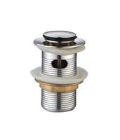 Донный клапан Ceramalux RD013 хром с переливом