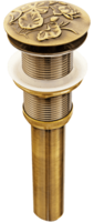 Донный клапан BronzeDeLuxe лотос 21976