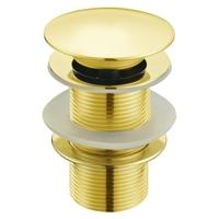 Донный клапан Melana MLN-TB51-1 без перелива (золото)