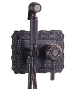 Смеситель для биде Lemark Jasmine LM6619ORB черная бронза