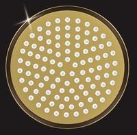 Лейка душевая Elghansa CD-260-Gold, золото
