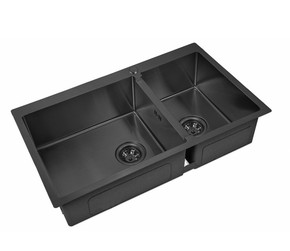 Мойка для кухни Zorg PVD 78-2-51-L GRAFIT