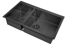 Мойка для кухни Zorg PVD 78-2-51-R GRAFIT
