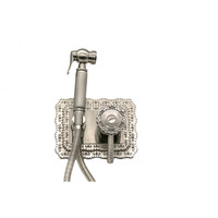 Гигиенический душ MILACIO Vitoria MC.800.SL скрытого монтажа, серебро