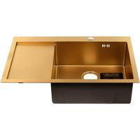 Кухонная мойка MELANA ProfLine D7851HG-R золото