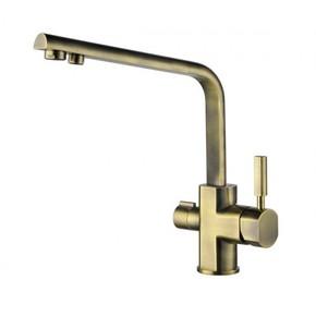 Смеситель для кухни под фильтр KAISER Decor 40144-3 Bronze