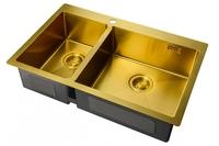 Мойка для кухни Zorg LIGHT BRONZE ZL R 780-2-510-R BRONZE