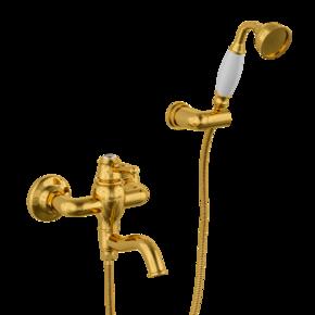 Смеситель для ванны Bennberg 130717 GOLD CRYSTAL