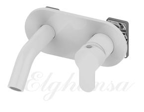 Смеситель Elghansa DYNAMIC 14R0783-White для скрытого монтажа однорычажный, белый