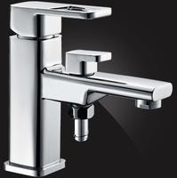 Смеситель Elghansa MONDSCHEIN NEW 1602333 для ванной с возможностью подключения шланга, хром