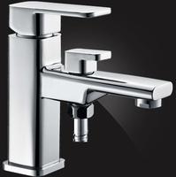 Смеситель Elghansa MONDSCHEIN 1602335 для ванной с возможностью подключения шланга, хром