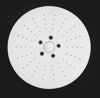 Лейка душевая Elghansa MR-024-Chrome круглая, хром