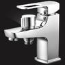 Смеситель Elghansa SCARLETT NEW 16A2245 для ванны с возможностью подключения шланга, хром