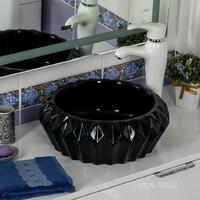 Керамическая раковина Melana MLN-78452 (черная)