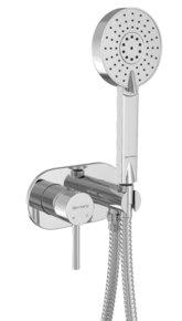 Смеситель встраиваемый с душевым набором Bennberg 18DK113 Хром