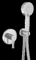 Смеситель встраиваемый с душевым набором Bennberg 18DK313 Хром
