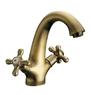 Смеситель Elghansa RETRO BRONZE 1902754-Bronze для умывальника двухвентильный, бронза