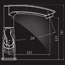 Смеситель Elghansa NEW WAVE ZETA 1907592 для умывальника двухвентильный, хром