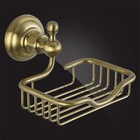 Мыльница для ванной Elghansa PRAKTIC Bronze Accessories PRK-455-Bronze металлическая, бронза