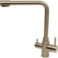 Смеситель для кухни под фильтр MELANA-F9505HG нержавеющая сталь, золото