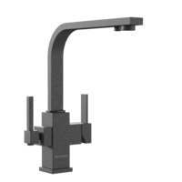 Смеситель под фильтр Bennberg 20F1122 Черный Металлик