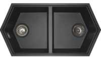 Кухонная мойка Kit Kraken Gulf темно-серый