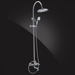 Душевая система Elghansa PRAKTIC 2302660-2F с верхним душем 220 мм, хром