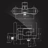 Смеситель Elghansa SCARLETT NEW 2322245 для ванны однорычажный с душевым комплектом, хром