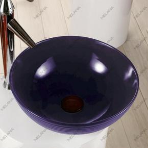 Керамическая раковина Melanа MLN-T4004-B9, фиолет
