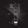 Гигиенический душ Elghansa SHOWER SPRAY BM-03-Chrome для биде с держателем, хром