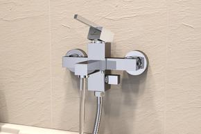 Смеситель Elghansa KUBUS 23A9741-ML для ванной однорычажный, хром