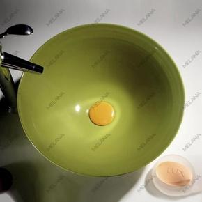 Керамическая раковина Melanа MLN-T4006-B8, салатовая