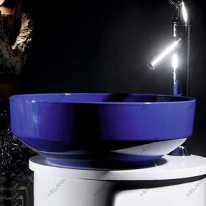 Керамическая раковина Melanа MLN-T4038-B1, синяя