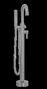 Смеситель для ванны напольный Bennberg 26N313 Chrome
