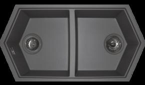 Керамический подвесной унитаз CeramaLux 821BB,черный