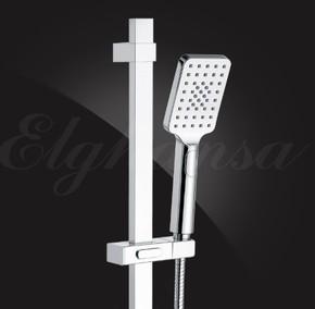 Лейка душевая Elghansa PK-017-Chrome 80х110 мм, хром