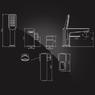 Смеситель Elghansa SCARLETT NEW 2822245 для ванны на 3 отверстия однорычажный, хром